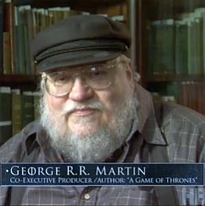 """George Martin parla della serie tv """"Game of Thrones"""""""