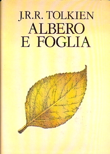 Copertina di &quot;Albero e foglia&quot; d J.R.R. Tolkien