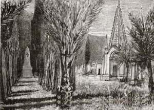 Bordighera cimitero degli inglesi 1898