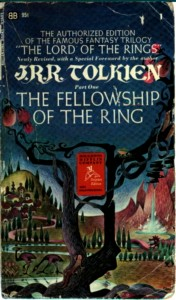 La Compagnia dell'Anello nell'edizione Houghton Mifflin