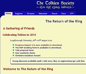 Call for papers della Tolkien Society