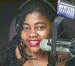 Joy Curry alla WETN Radio