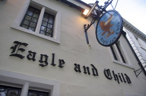 "Oxford: pub ""The Eagle and the Child!"