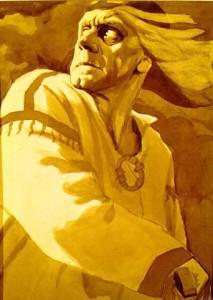 Illustrazione di Georgij Adamovič Stronk - Kullervo