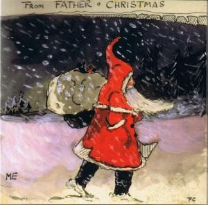 """Immagine dalle """"Lettere di Babbo Natale"""" di J.R.R. Tolkien"""
