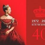 La Regina Margherita II di Danimarca
