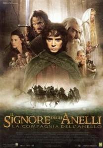Film: locandina del Signore degli Anelli: la Compagnia dell'Anello