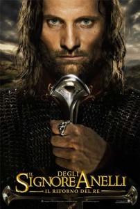 Film: locandina del Signore degli Anelli: Il ritorno del Re