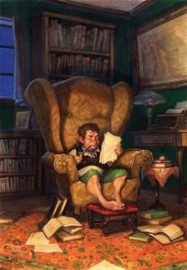 Bilbo legge