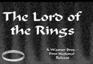 Titoli del Signore degli Anelli del 1944 (Warner Bros)