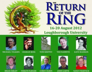 "Locandina di ""The Return of the Rings"" della Tolkien Society"