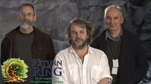 "Video di Peter Jackson a ""Return of the Ring"""