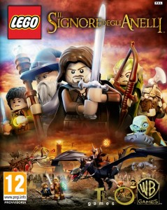 Videogiochi: copertina completa di Lego - The Lord of the Rings