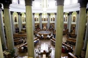 Biblioteca della Brotherton collection all'università di Leeds