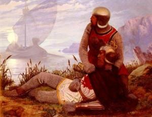 """Dipinti: """"La Morte D'Arthur"""" di John Mulcaster Carrick"""