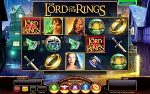 Slot machine sul Signore degli Anelli