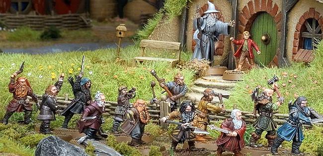 Games Workshop: Lo Hobbit in miniatura « Tutto sul mondo