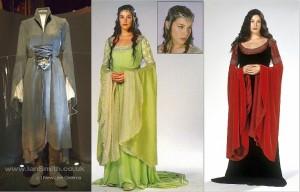 Costumi della principessa elfica Arwen