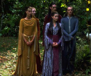 Elfi di Rivendell e Arwen