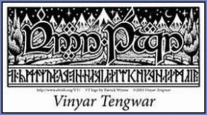 Logo Vinyar Tengwar