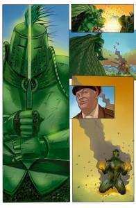 "Disegni: tavola da ""The Green Knight"""