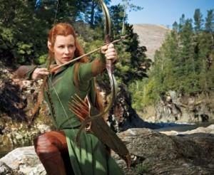 Film Lo Hobbit: Evangeline Lilly in Tauriel