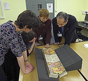 Consultazione manoscritti