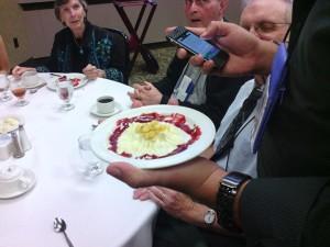 Buffet con Verlyn Flieger