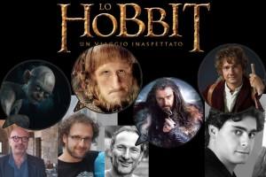 I doppiatori dello Hobbit