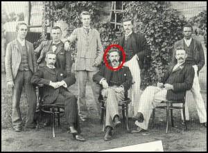 Arthur Reuel Tolkien e lo staff della sua banca
