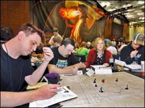Partita di gioco di ruolo in onore di Gary Gygax
