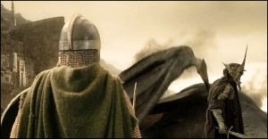Bollino 1: Eowyn e il Nazgul