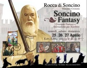 Locandina Soncino Fantasy