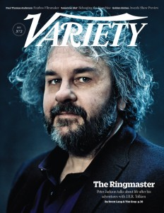 Rivista Variety: copertina Peter Jackson