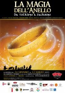 Locandina mostra Tolkien