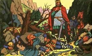Carlo Magno e Rolando a Roncisvalle