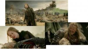 Ritorno del Re: scene del film