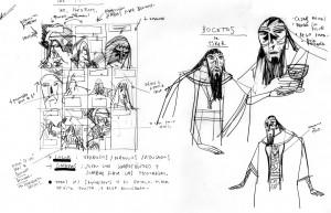 Il Beowulf fallito di García e Olivares: bozzetto