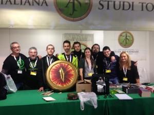 Lo stand AIST alla fine di Lucca Comics 2015