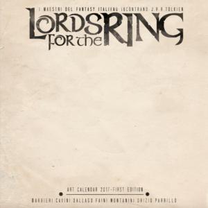 copertina limited edition del calendario
