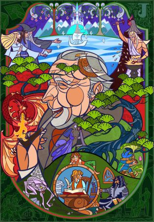 Tolkien-Lord of the Middle-earth - Jian Guo