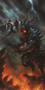 Fingolfin e Morgoth - Lucio Parrillo