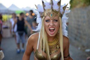 Festa dell'Unicorno a Vinci: Cosplayer