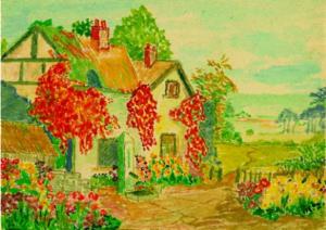 Disegno di Hilary Tolkien