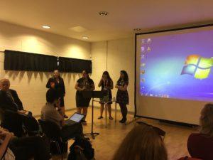 Leeds: Victoria Holtz-Wodzak, Aurélie Brémont, Yvette Kisor e Anahit Behrooz