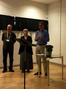 International Medieval Congress: Brad Eden, Kristen Larsen e Andrew Higgins