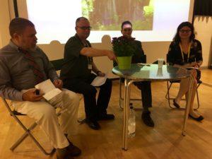 International Medieval Congress: Michael Wodzak, Brad Eden, Thomas Honegger e Dimitra Fimi