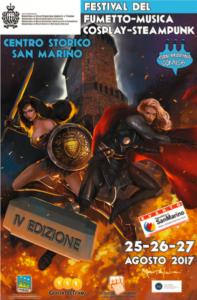 Locandina San Marino Comics 2017