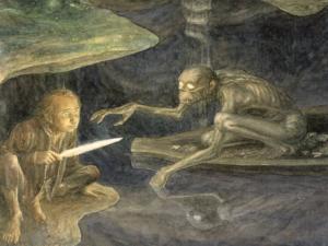 "Alan Lee: ""Riddles in the Dark"""