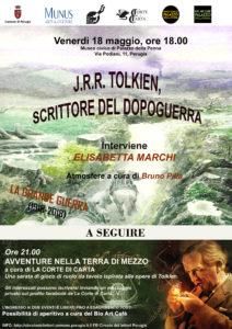 Locandina Tolkien scrittore del dopoguerra e Avventure nella Terra di Mezzo